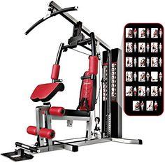 Sportstech Ganador De Prueba Multiestación De Musculación Premium 45en1 Hgx200 Hgx100 Sirve Para Máquina De Pesas Multi Gimnasio Máquina Para Hacer Ejercicio