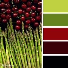 Цветосочетание. Красный и зеленый. | biser.info - всё о бисере и ...