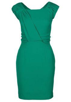 Louche - NIXI - Robe fourreau - vert