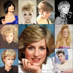 The 80s Hairstyles Trend