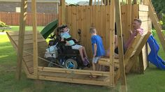Engineers needed to help put together plans for wheelchair accessible swing