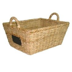 """Target Mobile Site - Smith & Hawken® Square Basket with chalkboard; 16"""""""