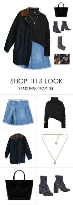 """Untitled #1169"" by greciapaola ❤ liked on Polyvore featuring See by Chloé, Ann Demeulemeester, Polo Ralph Lauren, Lacoste, Maison Margiela and Kate Spade"