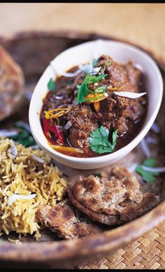 Lamb rogan josh, best curry ever!  Can just cheat and use patak's paste if you're in a hurry.