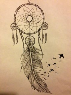 An amazing idea! I think i would probably put more birds flying away from the feather though :P but a great tattoo idea :)
