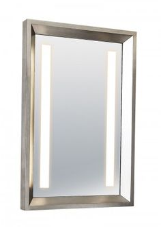 Montgomery Silver - backlit from Majestic Mirrors