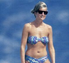 blue print bikini
