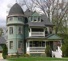Albemarle Rd, Newtonville, MA Victorian home