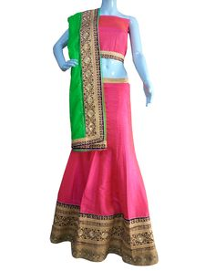 ‪#‎BuyNow‬ Magenta Pure Silk Double Toned Shaded Dye Wedding Lehenga Choli With Blouse only at Lalgulal.com. ‪#‎Price‬ :- 5202/- inr. To ‪#‎Order‬ :- http://goo.gl/9zVh09 To Order you Call or ‪#‎Whatsapp‬ us on +91-95121-50402 COD & Free Shipping Available only in India.