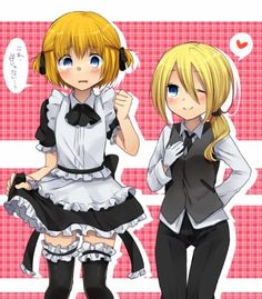 Maid Outfit Anime, Anime Maid, Eren X Armin, Eren And Mikasa, Christa Renz, Anime Traps, Bunny Suit, Aot Characters, Titans Anime