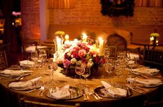loooove the lighting and table settings. Tablescapes, Wedding Reception, Table Settings, Party, Flowers, Beautiful, Las Vegas, Deck, Romantic
