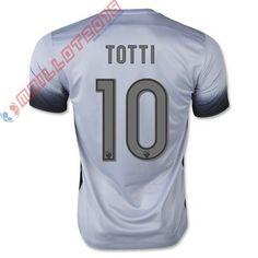 Voici les Nouveau maillot de foot TOTTI Third Totti AS Rome 2016 est 21.99 euro