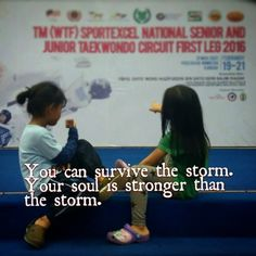 Azlibaloi | You can survive the storm. Your soul is stronger than the storm.