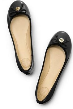 Tory Burch Chelsea Ballet Flats...I wear these all the time.