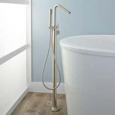 Cavalier+Freestanding+Tub+Faucet+and+Hand+Shower