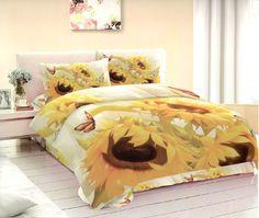 TOP 3D povlečení 140×200 70×90 – Slunečnice II Pohodlné TOP 3D povlečení 140×200 70×90 – Slunečnice II levně.Populární povlečení se vzorem v trojrozměrném provedení. Pro více informací a detailní popis tohoto povlečení přejděte na stránky … 3d Bedding, Comforters, Blanket, Furniture, Home Decor, Creature Comforts, Quilts, Blankets, Interior Design