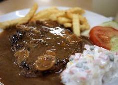Resep Sirloin Steak dengan Saus Mushroom