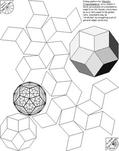 Sacred Geometry Design Sourcebook – bonus page – Kepler's Solid | The Geometry Code:Universal Symbolic Mirrors of Natural Laws Within Us