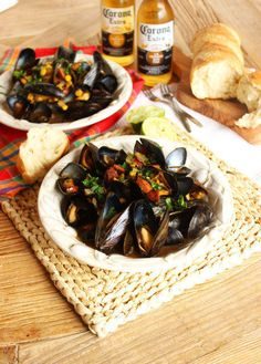 Mussels sounds fancy and like a whole ordeal to make, but you can actually whip up a batch of these in just 10 minutes. Get the recipe here.