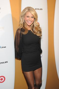 Christie Brinkley Photos Photos: Sports Illustrated Swimsuit Celebrates 50 Years Of Swim In NYC – Arrivals Christie Brinkley Fotos: Sportlicher illustrierter Badeanzug feiert 50 Jahre Schwimmen in NYC – Ankünfte Pantyhose Outfits, Black Pantyhose, Nylons, Sexy Outfits, Sexy Dresses, Pantyhosed Legs, Christie Brinkley, Celebs, Celebrities