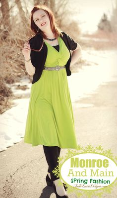 Monroe and Main Knot Your Mother's Dress Spring Fashion @Hailey Graham and Main Catalog #spring #fashion #MMBloggerSpotlight