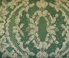 Very old lace, made in Brussels
