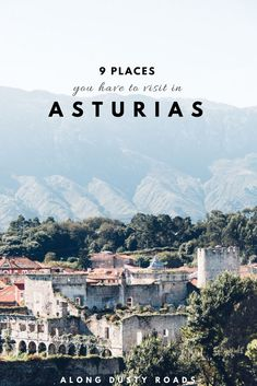 Asturias in the north of Spain is full of beautiful cities, stunning coastline and wonderful beaches - here are nine things you can't miss in Asturias! Things to do in Asturias Portugal Travel, Spain And Portugal, Spain Travel, Poland Travel, Italy Travel, European Destination, European Travel, Menorca, Malaga
