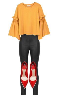 """""""♡"""" by iojikxamiak on Polyvore featuring Armani Jeans and MANGO"""