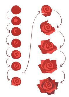 55 Ideas for flowers sketch rose drawing tutorials 55 Ideas for flowers sketch rose drawing tutorial Digital Painting Tutorials, Digital Art Tutorial, Art Tutorials, Drawing Tutorials, Drawing Ideas, Roses Drawing Tutorial, Drawing Pics, Acrylic Tutorials, Watercolor Tutorials