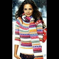 ❤Host Pick❤NWOT ( seen on Katie Holmes) sweater *Host Pick - Best in Sweaters, Jackets & Coats 1/15* Limited edition quarter sleeve preppy sweater as seen on Katie Holmes. Scarf not included. New without tags.  100% Lamb's wool. Message me with any questions xo GAP Sweaters