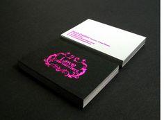 27 Inspiring Hot Pink Business Cards