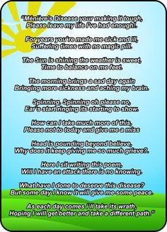 Meniere's Disease poem by Shayne Town.