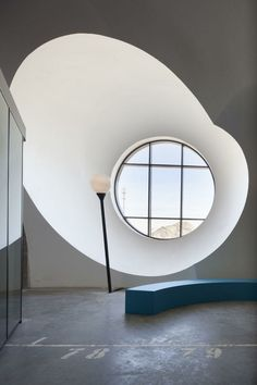 fenetre ronde architecture maison niche fenetre contemporaine