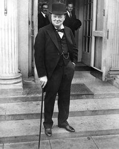 British Prime Minister Winston Churchill Glossy 8x10 Photo Poster World War II | eBay
