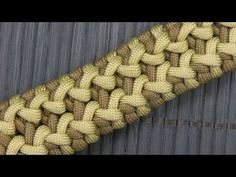"Wide Side Step Paracord Bracelet (Paracord 101) *""Side Step"" original design by Joe Clegg *** This tutorial shows you how to make a Wide Side Step paracord b..."