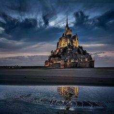 Mount Saint Michael Normandy France