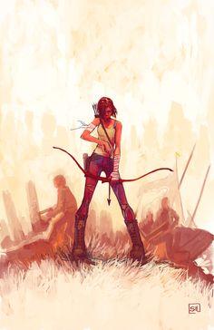 Lara Croft - Tomb Raider - Stephanie Hans