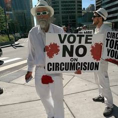 This is happening downtown #philly! Sir you are too late for me  ... I must say very kind dude!  #Circumcision #bloodstainedmen