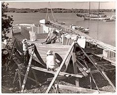 Boat building on Man-O-War dates back to the 1800's. In the mid-1900's, William H. Albury was known for building the large boats and Maurice Albury was renowned for his Abaco Dinghies. But there were also many other boat builders on Man-O-War turning out boats in their yards for the fishermen of the Abacos, Nassau, Eleuthera, etc. Check out the Heritage Museum website for more interesting photos and facts.
