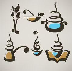 6 Abstract Coffee Food Vector Logos Logotypes - http://www.welovesolo.com/6-abstract-coffee-food-vector-logos-logotypes/
