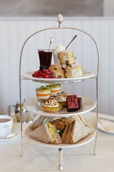 Which is your favorite item on an English Afternoon Tea stand? We'd love to know.