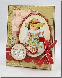 Oh my gosh, how pretty. Another PI Diva card. by Barb Anders