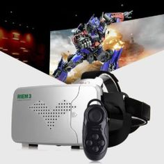 RITECH 2016 Virtual Reality 3D Glasses Remote Control Adjustable Focal Length
