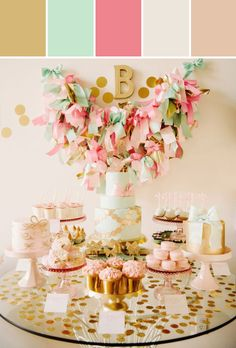 Dessert Table Designed By Lisa Perrone | Stylyze Creative Director via Stylyze