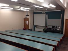 I have managed to secure a facility for doco viewing( if my venture was to go ahead). This is an old lecture room  which has been decommissioned for use by my colleagues and students during the week. I can have total access on weekends.