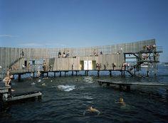 White arkitekter AB | Kastrup Sea Bath, Denmark, 2004 (photo by Amager Stranvej)