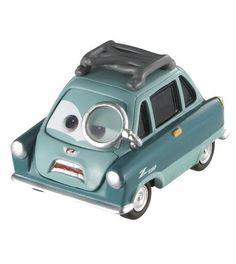 Professor Z - Pixar CARS 2 - diecast car toy