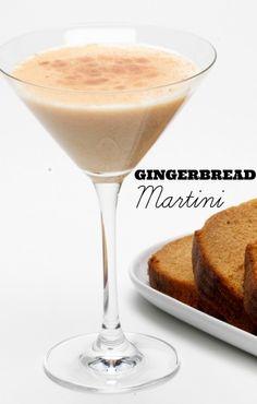 RumChata Gingerbread Martini