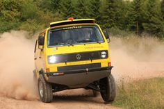 VW T3 4x4 VR6 - mid-engined rally monster   Retro Rides