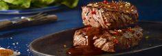Rezept Rindersteaks Honig Chili Marinade mit THOMY Grillprodukt